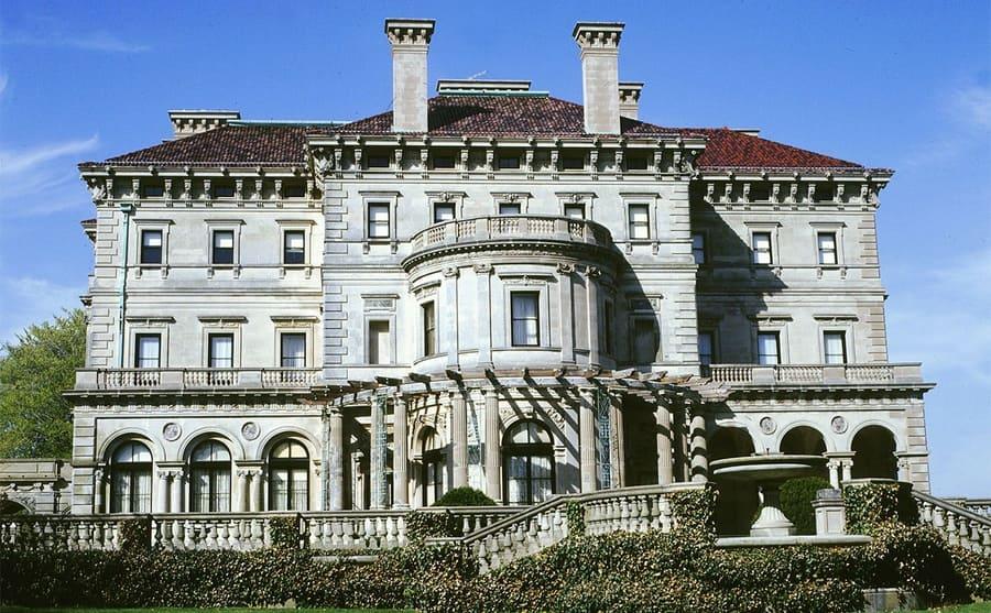 One of the empty Vanderbilt mansions
