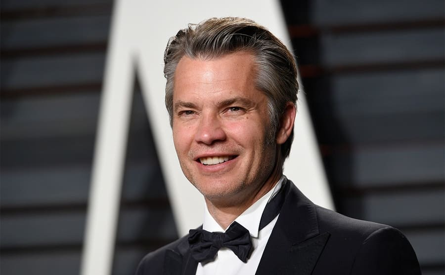 Timothy Olyphant on the red carpet in 2017