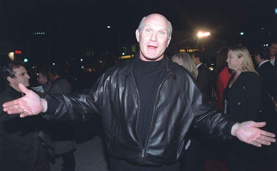 Terry Bradshaw at Any Given Sunday premiere