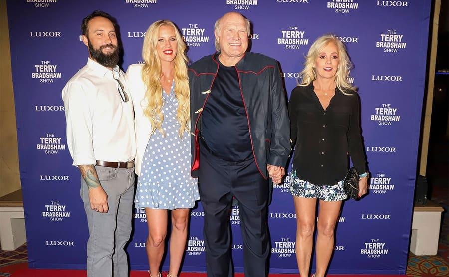 The Terry Bradshaw Show opening night, Las Vegas, 01 Aug 2019 - Erin Bradshaw, Terry Bradshaw, Tammy Bradshaw
