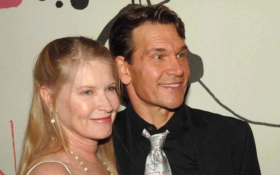 Patrick Swayze with His Wife, Lisa Niemi