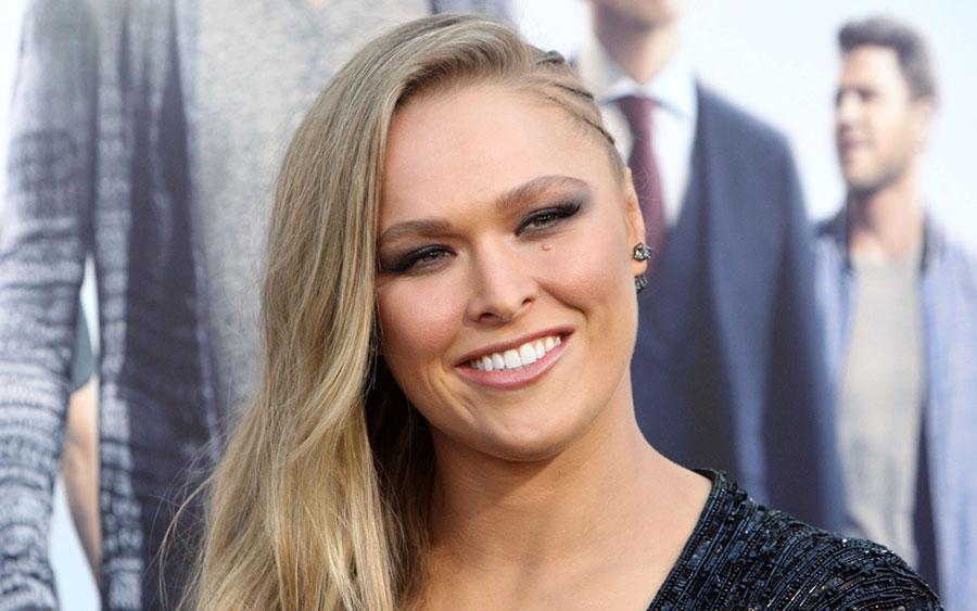 Ronda Rousey, 'Entourage' film premiere, Los Angeles, America - 01 Jun 2015