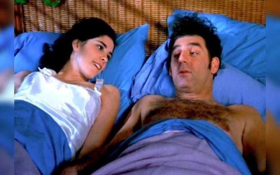 Kramer's girlfriend, Sarah Silverman