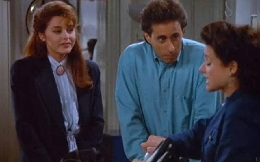 """Jane Leeves – as Marla in """"The Virgin,"""" Seinfeld"""