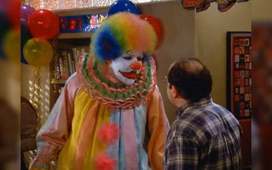 "Jon Favreau – as Eric, the Clown in ""The Fire,"" Seinfeld"
