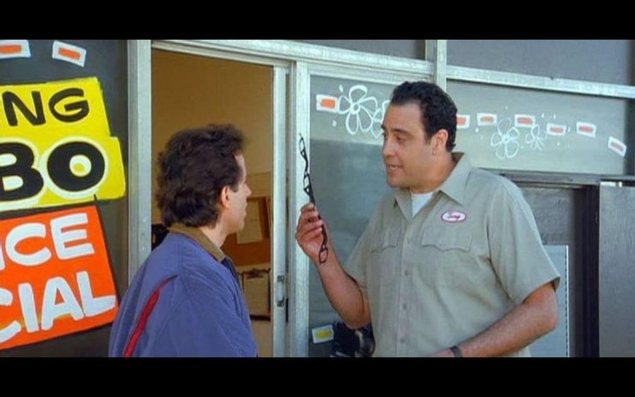 Brad Garrett as Tony on Seinfeld