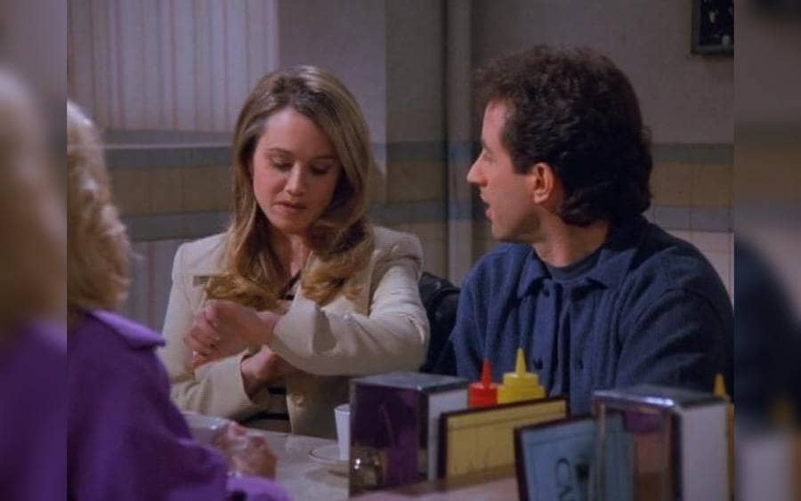 Christine Taylor in Seinfeld