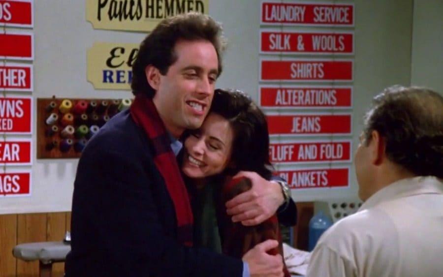 Courtney Cox as Meryl in Seinfeld