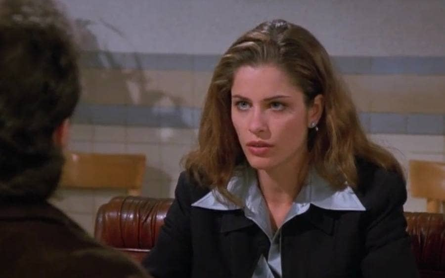Amanda Peet in Seinfeld