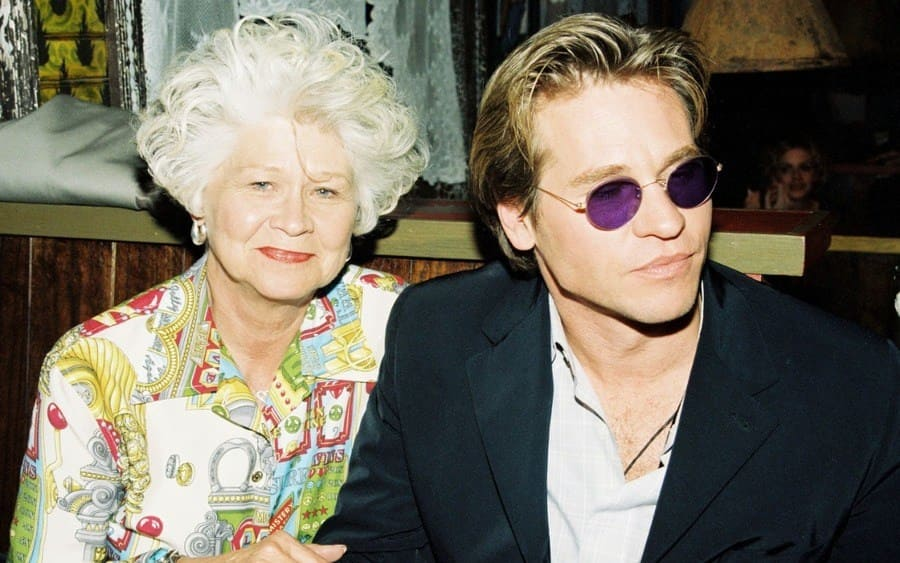 Gladys Ekstadt and son Val Kilmer
