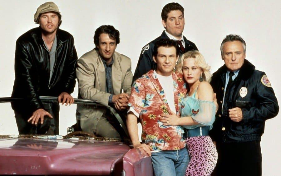 True Romance – 1993, Val Kilmer, Bronson Pinchot, Christopher Penn, Christian Slater, Patricia Arquette, Dennis Hopper