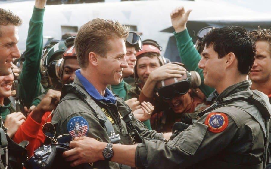 Rick Rossovich, Val Kilmer, Tom Cruise