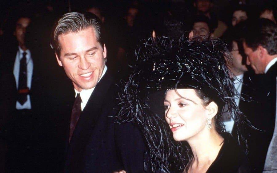 Val Kilmer and Joanne Whalley Kilmer