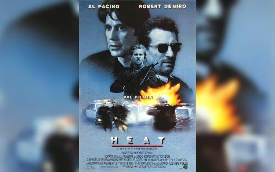 Heat – 1995, Al Pacino, Val Kilmer, Robert De Niro