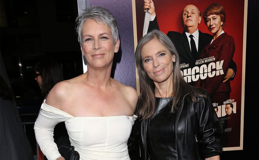 Jamie Lee and Kelly Curtis on the red carpet in 2012