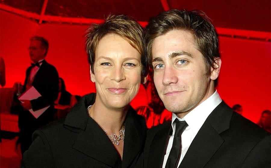 Jamie Lee Curtis and Jake Gyllenhaal on the red carpet in 2003