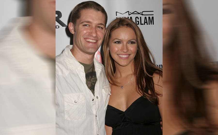 Matthew Morrison and Chrishell Stauce on the red carpet in 2006