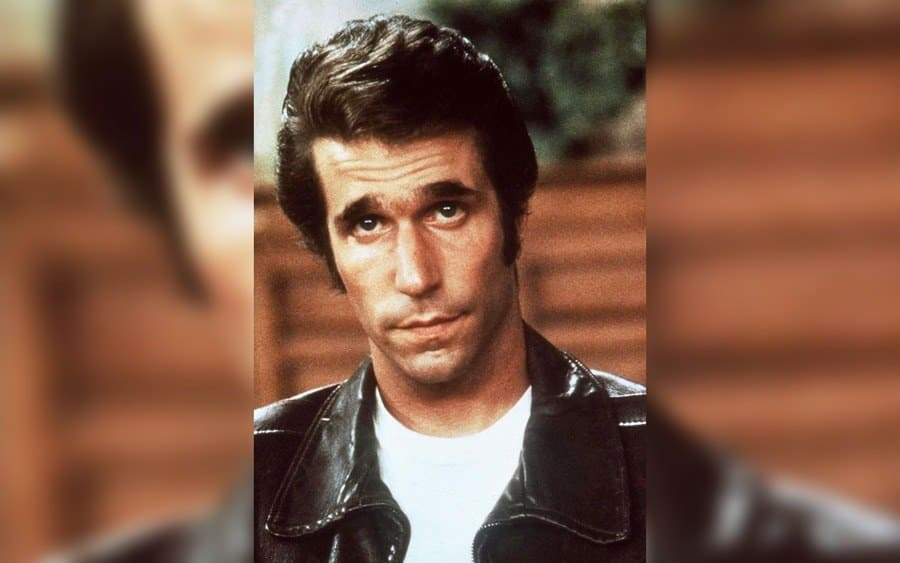 Henry Winkler as the Fonze From American TV Show 'Happy Days'