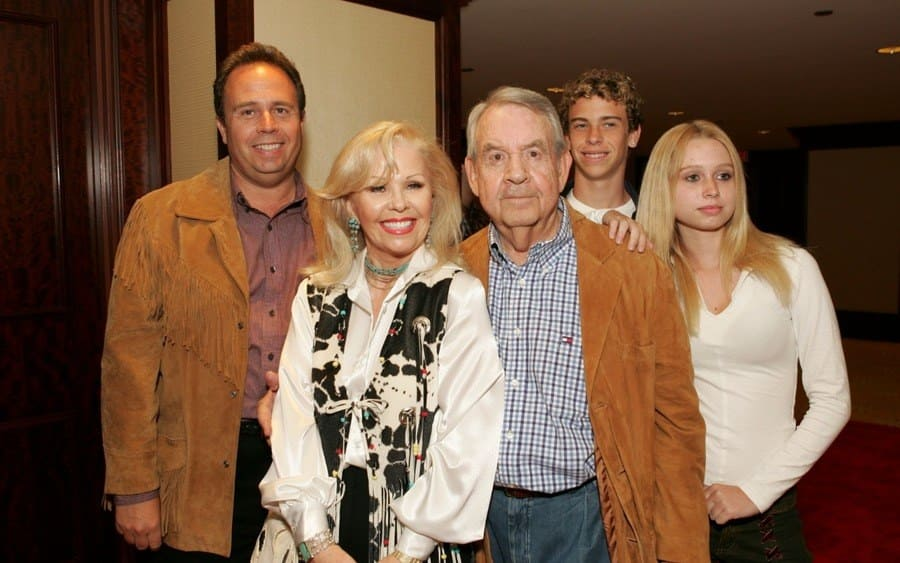 Tom Bosley and wife Patricia Carr and family