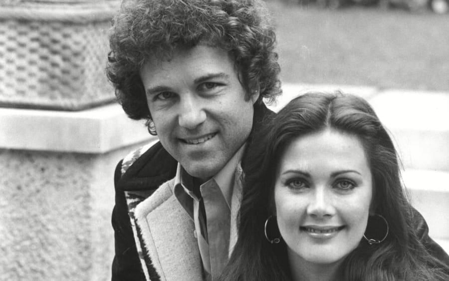 Lynda Carter With Husband Ron Samuels At Inn On The Park London