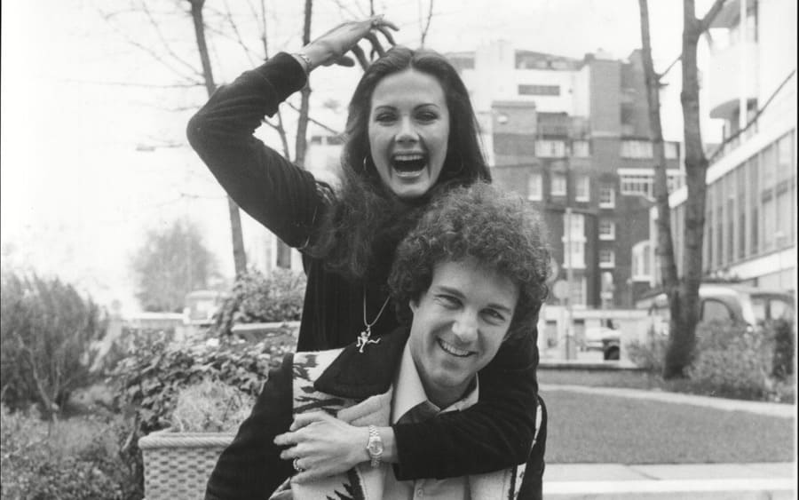 Actress Lynda Carter With Husband Ron Samuels At The Inn On The Park London