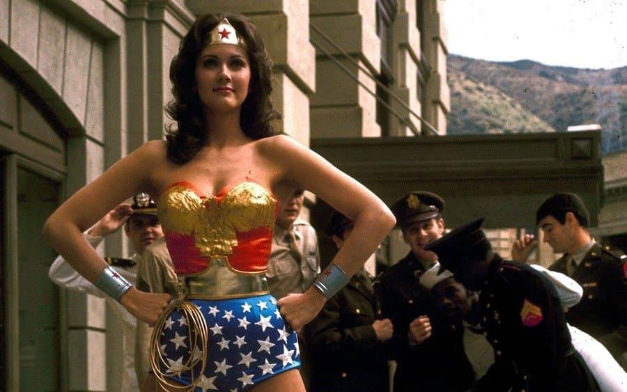 Lynda Carter in 'Wonder Woman