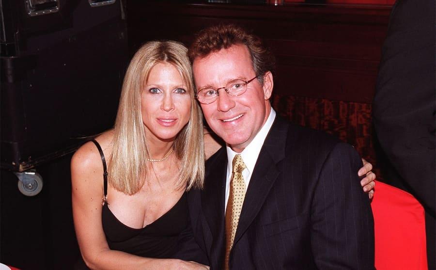 Phil Hartman posing with Bryn 1997