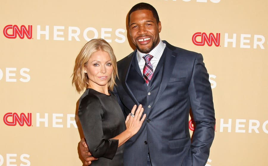 Kelly Ripa and Michael Strahan on the red carpet together