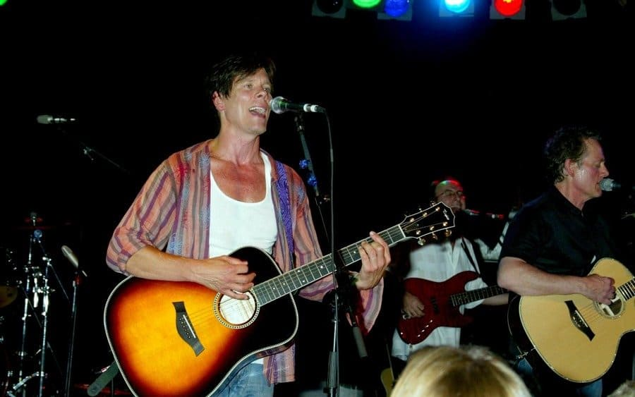 Kevin Bacon and Michael Bacon Bacon Brothers in Concert, Hollywood, America - 01 Aug 2003