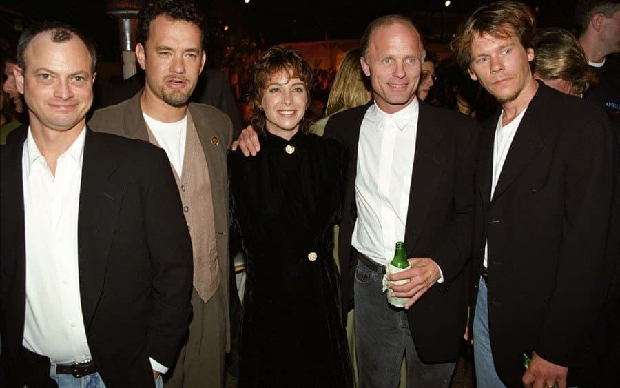 Gary Sinise, Tom Hanks, Kathleen Quinlan, Ed Harris and Kevin Bacon 'Apollo 13' film premiere