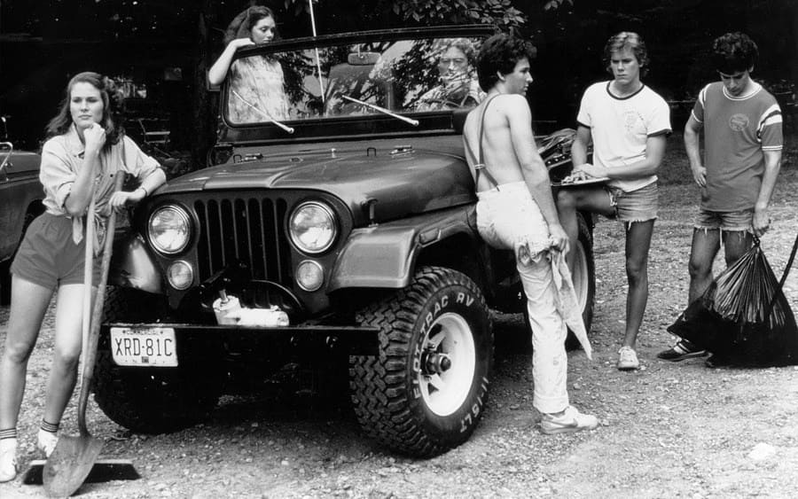 Laurie Bartram, Jeannine Taylor, Harry Crosby, Kevin Bacon, Mark Nelson Friday The 13Th - 1980