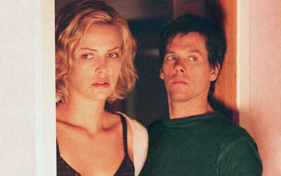 Charlize Theron, Kevin Bacon Trapped – 2002