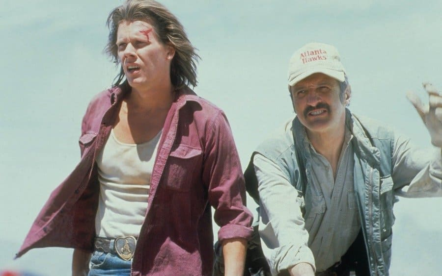Tremors, Kevin Bacon, Michael Gross