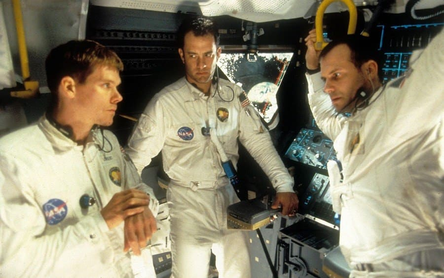 Apollo 13, Kevin Bacon, Tom Hanks, Bill Paxton.