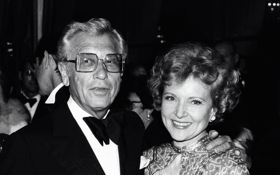Betty White with Allen Ludden