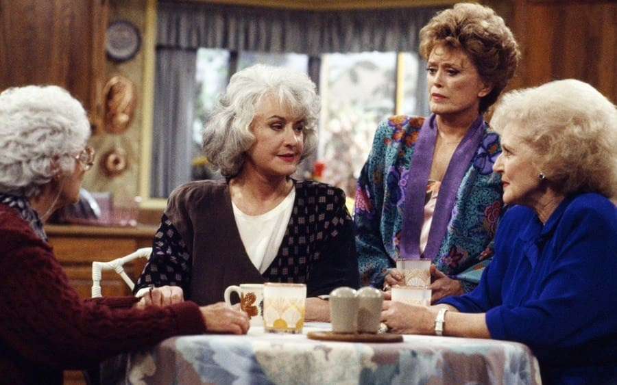 Estelle Getty, Bea Arthur, Rue McClanahan, Betty White - The Golden Girls