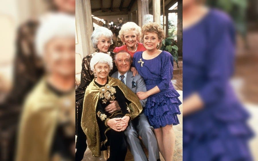 Estelle Getty, Bea Arthur, Bob Hope, Betty White, Rue McClanahan - The Golden Girls