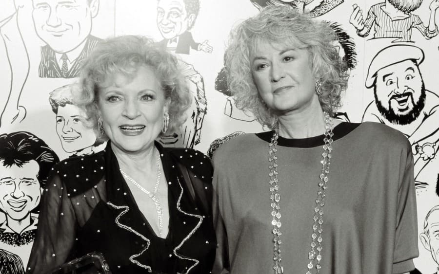 Betty White and Beatrice Arthur 1990 American Comedy Awards