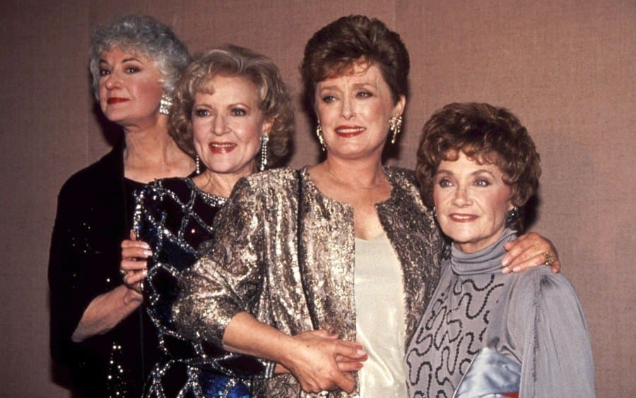 Bea Arthur, Betty White, Rue McClanahan, and Estelle Getty 1991 Golden Globe Awards