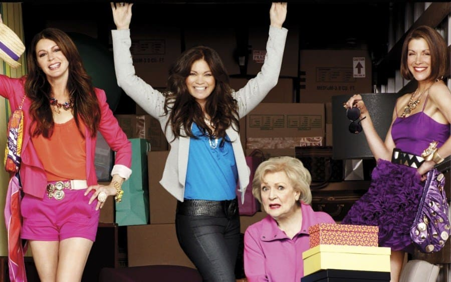 Jane Leeves, Valerie Bertinelli, Betty White, Wendie Malick Hot In Cleveland