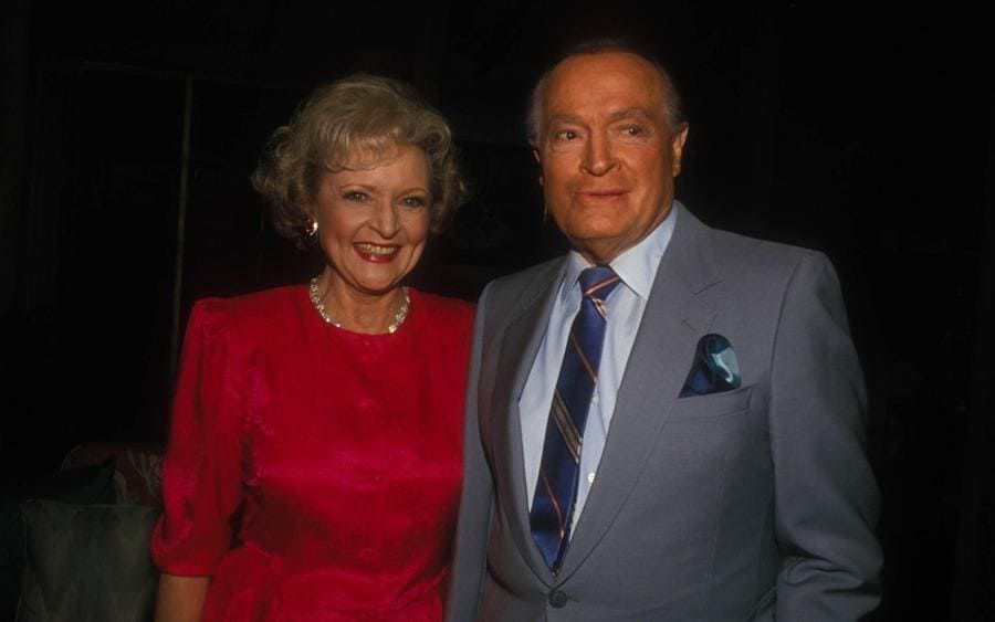 Betty White and Bob Hope 1989
