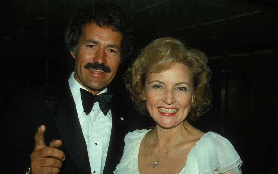Betty White and Alex Trebek 1982
