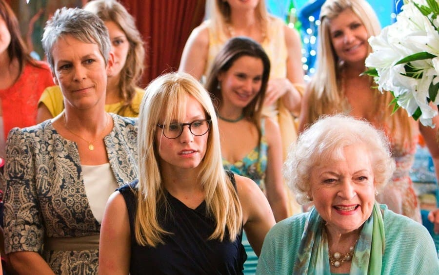Jamie Lee Curtis, Kristen Bell, Betty White You Again - 2010