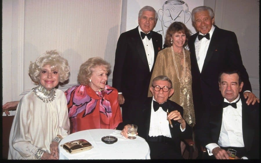 Carol Channing, Betty White, George Burns, Walter Matthau