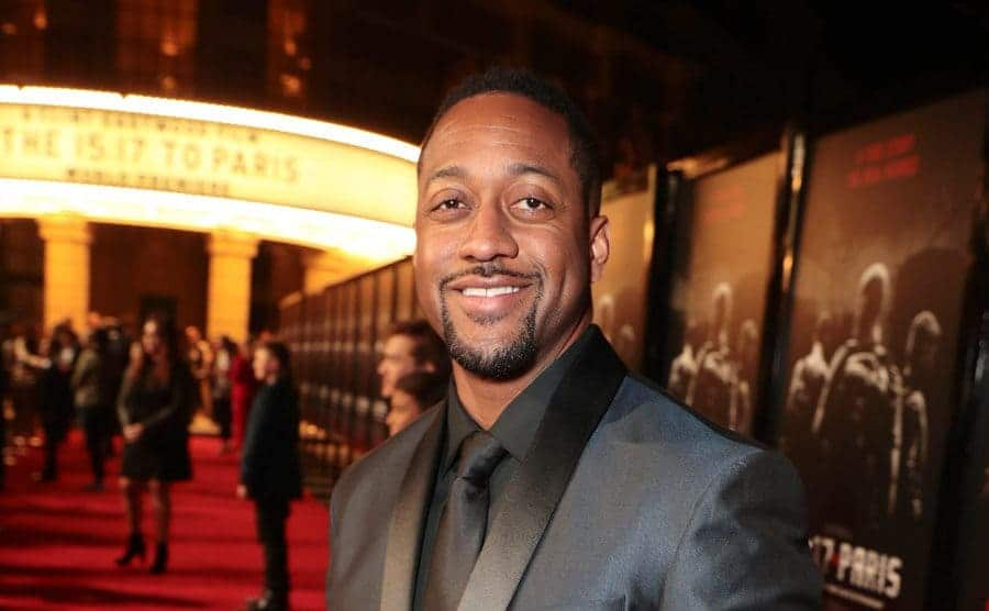 Jaleel White at a film premiere in 2018