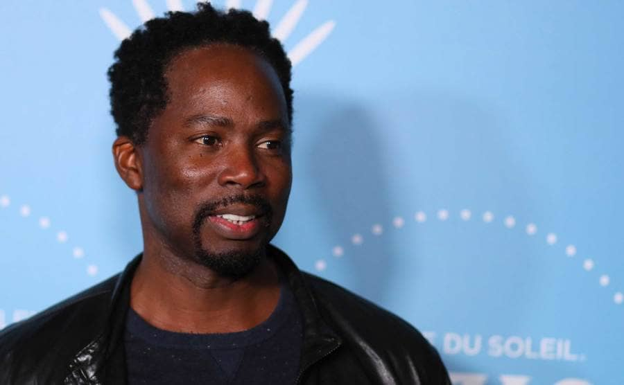 Harold Perrineau on the red carpet