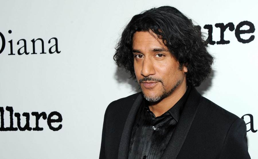 A close up of Naveen Andrews