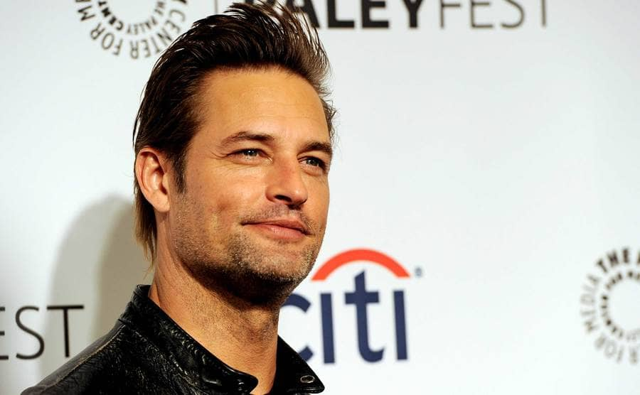 A close up of Josh Holloway smiling