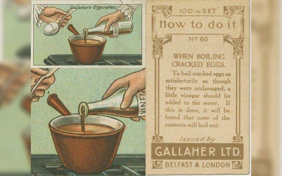 Boiling a cracked Egg hack