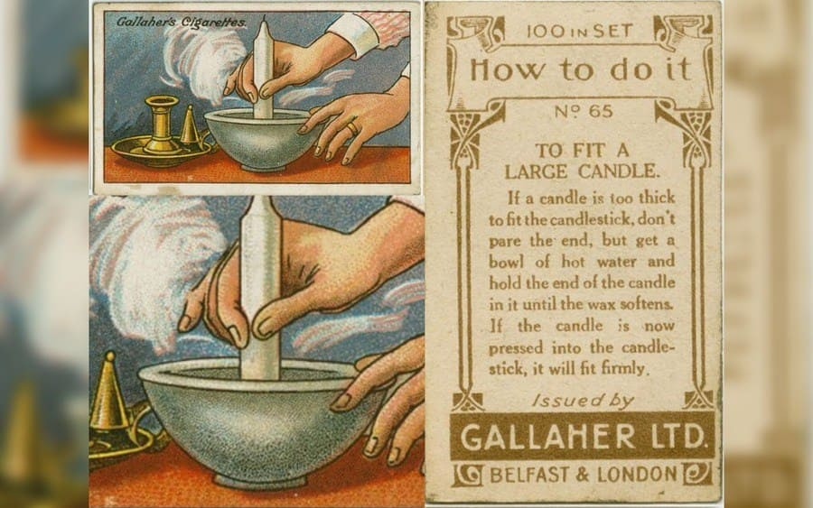 How to use a large candle hack